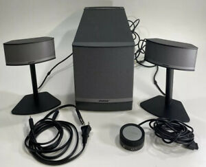 Bose Companion 5 Multimedia Speaker System Subwoofer Stand Speakers High Quality