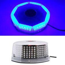 240 LED Super Blue Car Harzard Beacon Emergency Magnetic Strobe Flash Light Bar