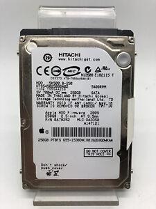 Internal Hard Drive 250GB 2,5pouces Hitachi Model HTS545025B9SA02 Laptop D'