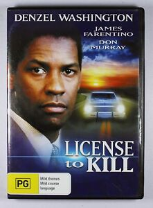 Licence To Kill DVD FREE POST