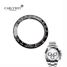 NEW TOP Black/White Ceramic Bezel Insert For Daytona Watches 116500 116520