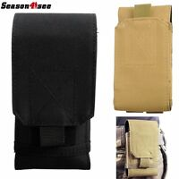 """5.5"""" Tactical Military Molle Belt Mobile Cell Phone Pouch Case"""
