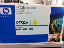 Hp Original Toner C9722A 22A for Lj 4600 4650 Yellow A-Ware