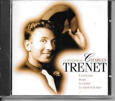 CD COMPIL 16 TITRES--CHARLES TRENET--LE MEILLEUR DE CHARLES TRENET