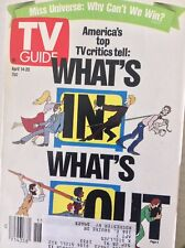 Tv Guide Magazine  What's In & Out April 14-20, 1990 091117nonrh2