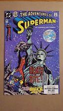 Adventures of Superman #465(DC Comics) First App Hank Henshaw Cyborg Superman VF