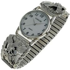 Native American Mens Watch Traditional Eagle Design
