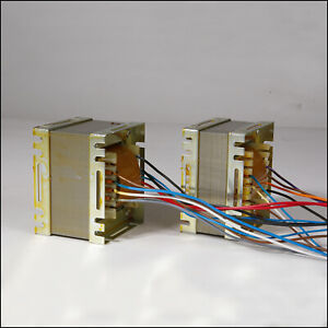 Set Transformer For Tube Guitar Amps Replacement Power Output Choke - Set DR103