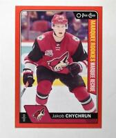 2016-17 O-Pee-Chee Red #691 Jakob Chychrun - NM-MT