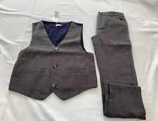 Nwt Gymboree Boys  Herringbone Vest 7/8 & Pants Holiday Formal  Size 8