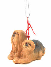 Lhasa Apso Momma Dog with Puppy Ornament by Midwest-Cbk