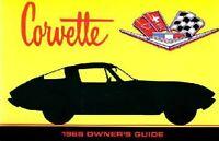 Bishko OEM Maintenance Owner's Manual Bound for Chevrolet Corvette 1966