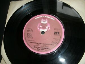 """Gladys Knight & The Pips Come Back And Finish What You Started 7"""" Buddah BDS 473"""