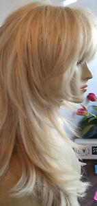 Lush ROMANTIC ANGEL Premium Quality Platinum Blonde Long Hair Wig