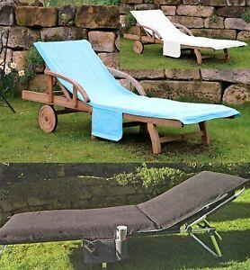 Liegestuhlauflage Bezug STRANDLIEGE Gartenliege Auflage Schonbezug Liege Typ436