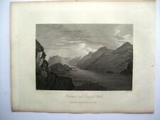 Buttermere and Crummoch Water (published Sept 15th, 1815)