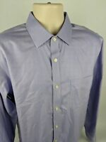 Banana Republic Men's Purple Non Iron Classic Fit L/S Dress Shirt Size L