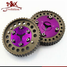 Cam Gear pulley Pair for Mazda MX5 NA6/NA8 1989-1997 and NB8A 98-00 Purple