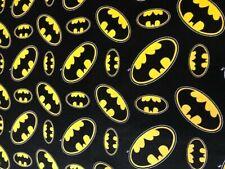 BATMAN super hero cotton fabric fat quarter lisensed Material Bat Marvel  Craft