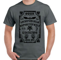 Ouija Board Mens Funny Halloween T-Shirt Witchcraft Spirit Ghosts Paranormal