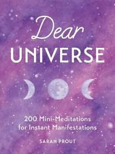 NEW Dear Universe By Sarah Prout Hardcover Free Shipping