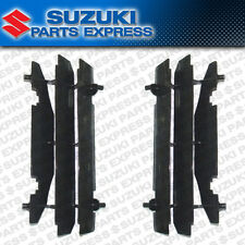 NEW 2000 - 2017 SUZUKI DRZ 400 E SM OEM RADIATOR LOUVERS GUARDS PAIR 17831-37E11