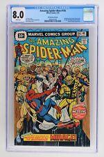 Amazing Spider-Man #156 - Marvel 1976 CGC 8.0 - 30 Cent Variant!