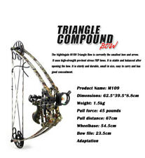 composite pulley bow and arrow shooting archery outdoor competition equipment