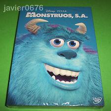MONSTRUOS S.A. DISNEY PIXAR DVD NUEVO Y PRECINTADO SLIPCOVER