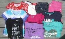 Lot of Ten (10) Girls Clothing - Size 8 - Jeans, Tops, Dress
