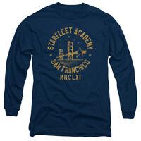 Star Trek Starfleet Academy San Francisco Adult Long Sleeve T-Shirt S-3XL