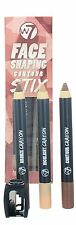 W7 Face Shaping Contour Stix Pack of 3 Contouring Pencils