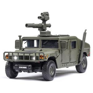 1/32 HMMWV M1046 Humvee Military Vehicle Model Truck Diecast Vehicle Toy Green