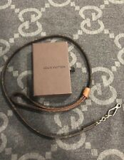 100% AUTHENTIC LOUIS VUITTON MONOGRAM DOG LEASH LAISSE BAXTER MM 40 INCH LONG