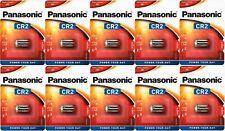 10 x Panasonic CR2 3V Lithium Battery Camera DL2 Exp date 2029