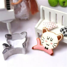 DIY Stainless Steel Cookie Cutter Cake Baking Mould Biscuit Cat Mould ☆