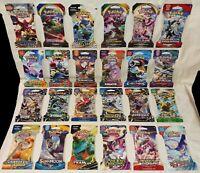 Huge Collectors Lot Pokemon Sleeved Booster Packs / 24 Packs / 24 Sets / Sealed