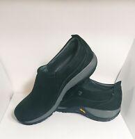 Dansko Womens Sz 40 Shoes Patti Black Milled Leather Nubuck 4353100294 $145