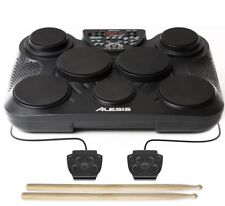 Alesis Compact Kit 7 USB Portable Tabletop Drum Machine 7-Pad Kit w/ drumsticks