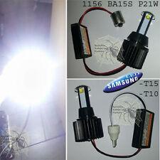 LAMPADA T10 / T15 / 1156 BA15S P21W Con 2LED CREE 60W 2000LM SAMSUNG CANBUS