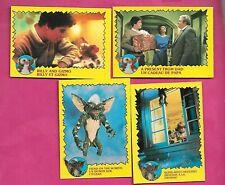 4 X Rare 1984 Warner Gremlins Card (Inv# C3682)