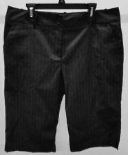 NWT Worthington Women's Blue Navy Striped Modern Fit Dress Shorts Size: 8