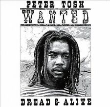 Wanted Dread & Alive by Peter Tosh (CD, Jun-1998, EMI Music Distribution)