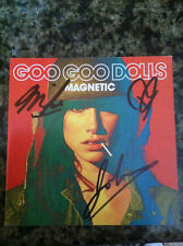 Goo Goo Dolls Magnetic cd signed autographed by the band members