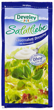 (100ml=1,33€) Develey Salatliebe - Sauerrahm Dressing - Salatdressing - 75 ml