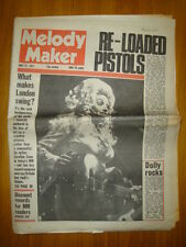 MELODY MAKER 1977 MAY 21 SEX PISTOLS PUNK DOLLY PARTON