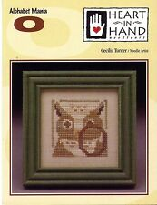 """Alphabet Mania o"" by Heart in Hand Needleart"