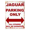 Jaguar Metal Garage sign man cave Jag e type Vintage tin sign plaque retro