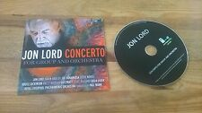 CD Rock Jon Lord - Concerto For Group / Orchestra (3 Song) Promo EAR MUSIC EDEL