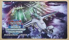 Yugioh juego maletero playmat World Championship Qualifier regional 2013 drachossack